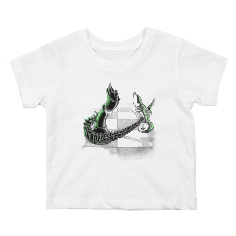 Queen Takes Bishop Kids Baby T-Shirt by ibeenthere's Artist Shop