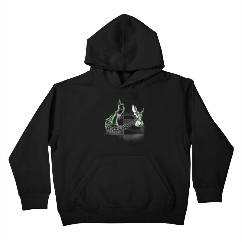 Queen Takes Bishop Kids Pullover Hoody by ibeenthere's Artist Shop