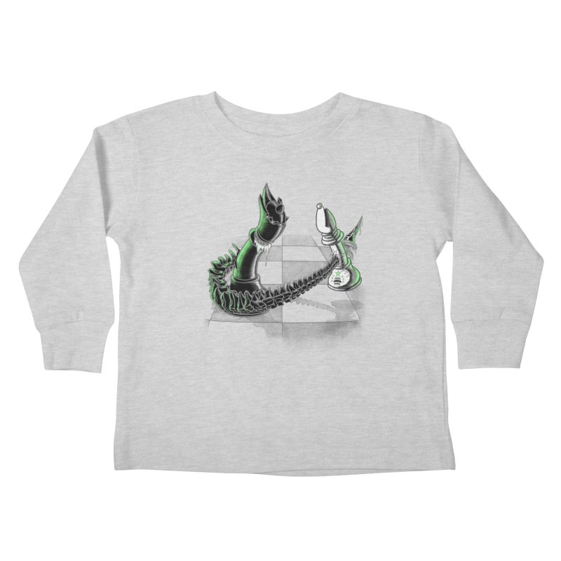 Queen Takes Bishop Kids Toddler Longsleeve T-Shirt by ibeenthere's Artist Shop
