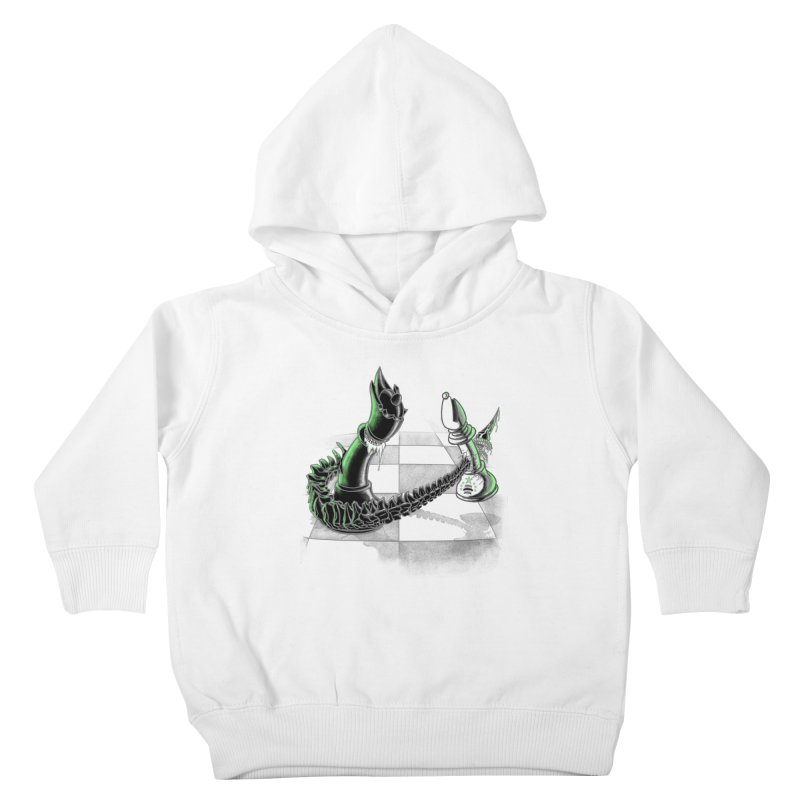 Queen Takes Bishop Kids Toddler Pullover Hoody by ibeenthere's Artist Shop