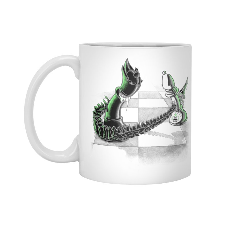 Queen Takes Bishop Accessories Mug by ibeenthere's Artist Shop