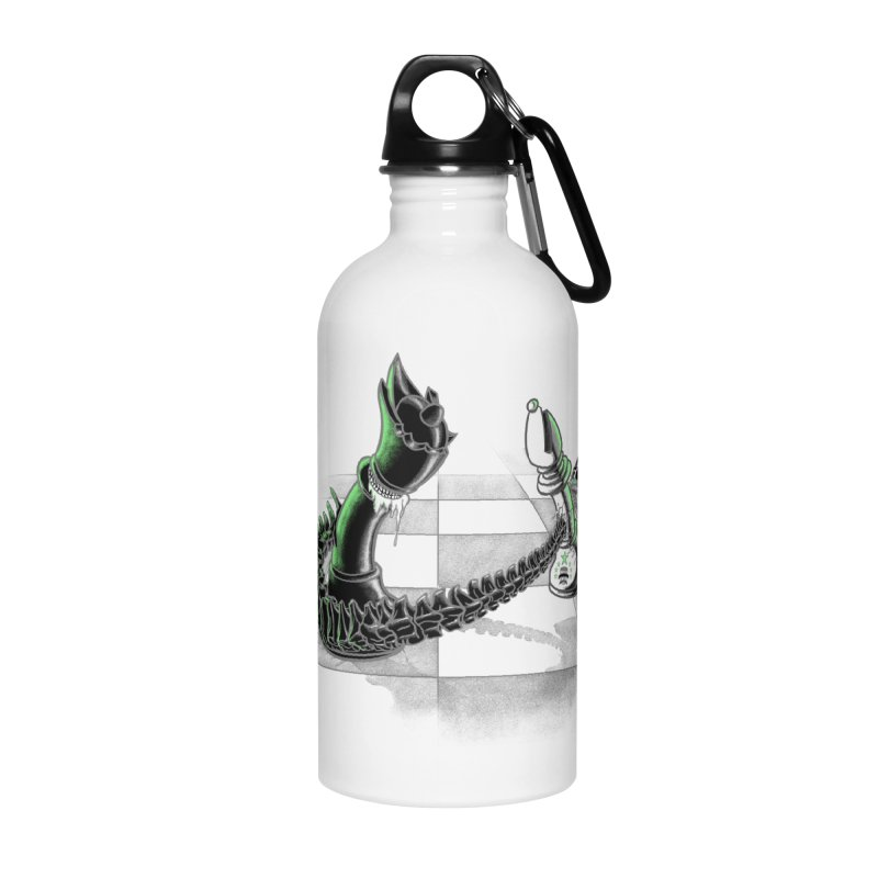 Queen Takes Bishop Accessories Water Bottle by ibeenthere's Artist Shop