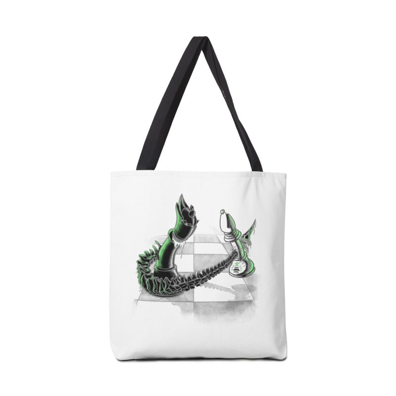 Queen Takes Bishop Accessories Bag by ibeenthere's Artist Shop