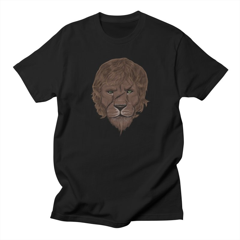 Scarred Lion Women's Regular Unisex T-Shirt by ibeenthere's Artist Shop