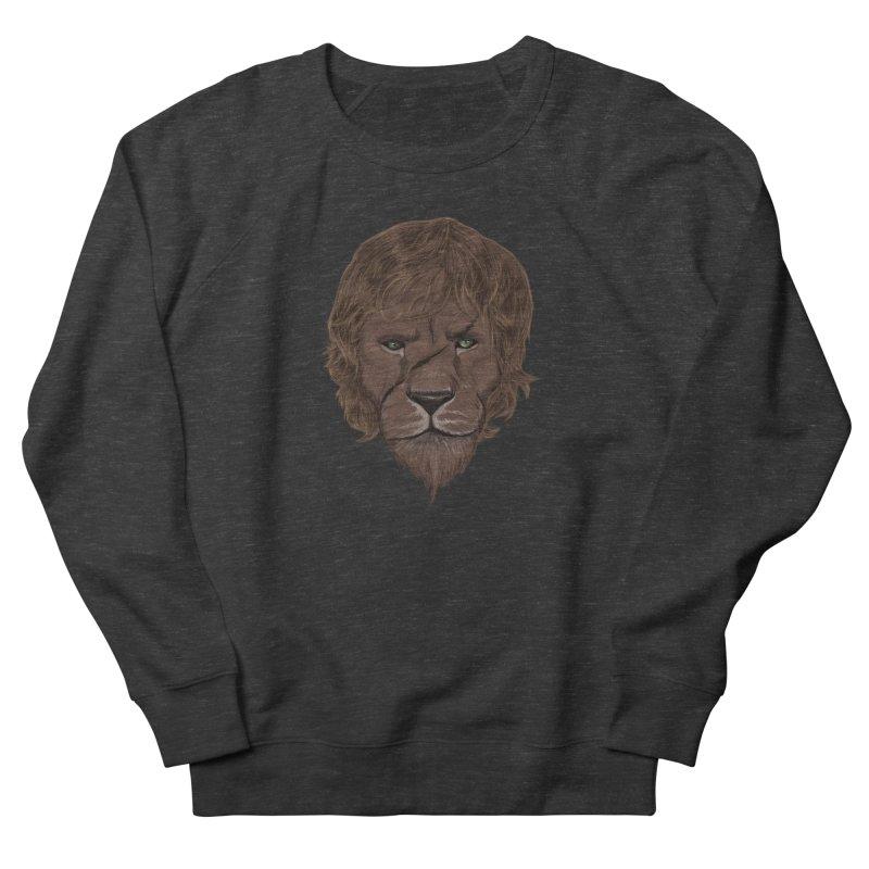 Scarred Lion Men's Sweatshirt by ibeenthere's Artist Shop