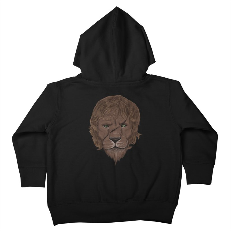Scarred Lion Kids Toddler Zip-Up Hoody by ibeenthere's Artist Shop