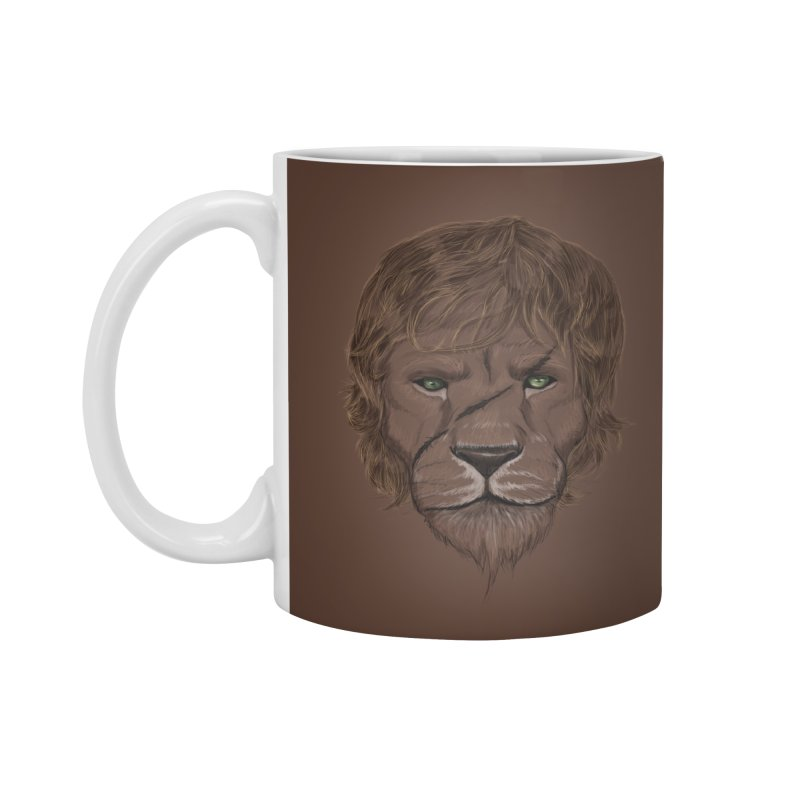 Scarred Lion Accessories Mug by ibeenthere's Artist Shop