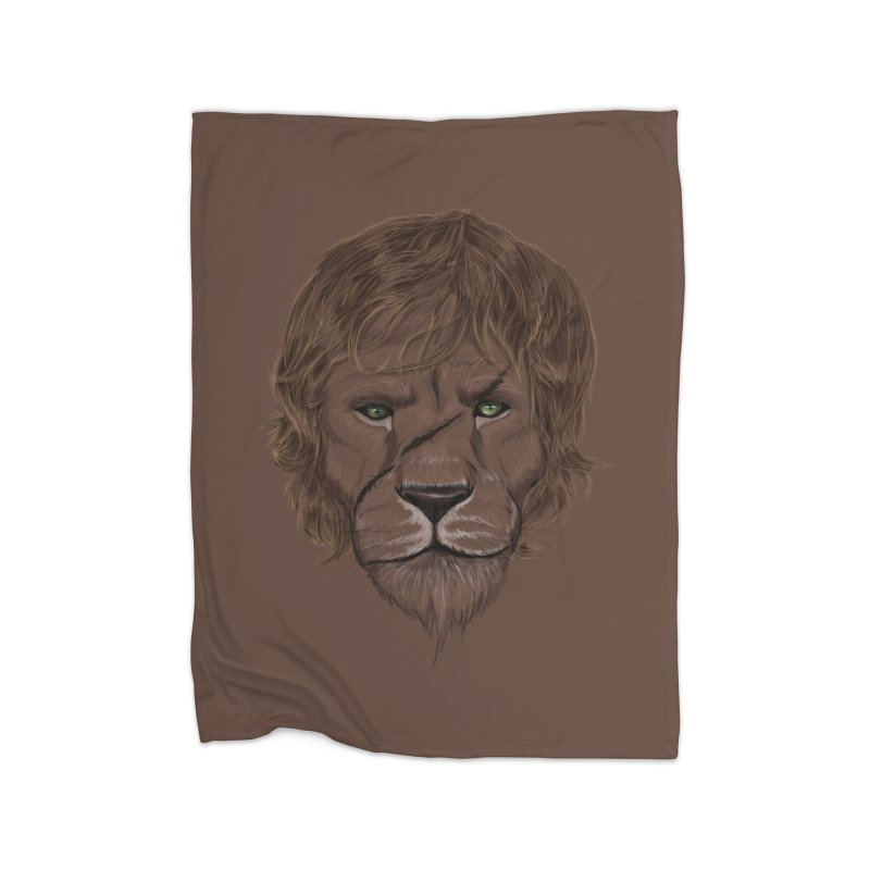 Scarred Lion Home Blanket by ibeenthere's Artist Shop