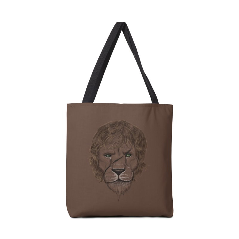 Scarred Lion Accessories Bag by ibeenthere's Artist Shop