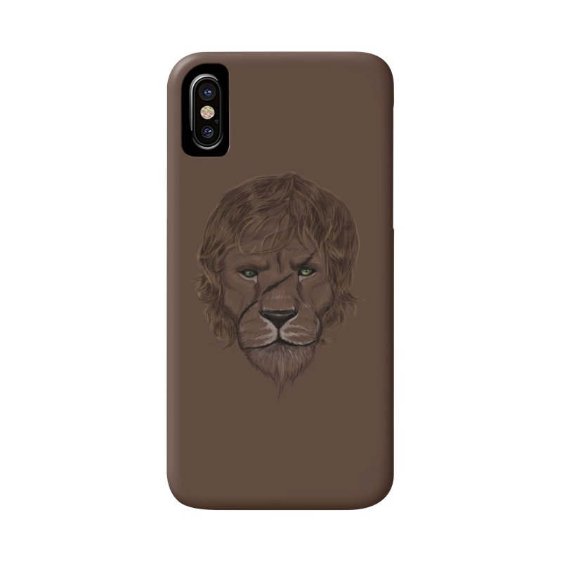 Scarred Lion Accessories Phone Case by ibeenthere's Artist Shop