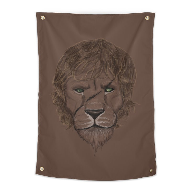 Scarred Lion Home Tapestry by ibeenthere's Artist Shop