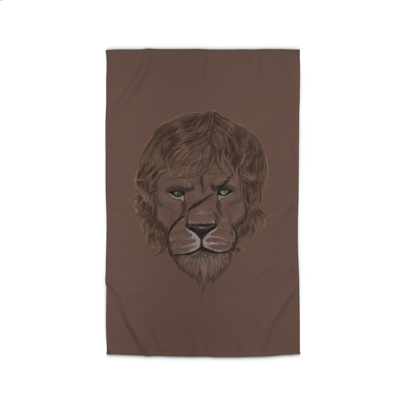 Scarred Lion Home Rug by ibeenthere's Artist Shop