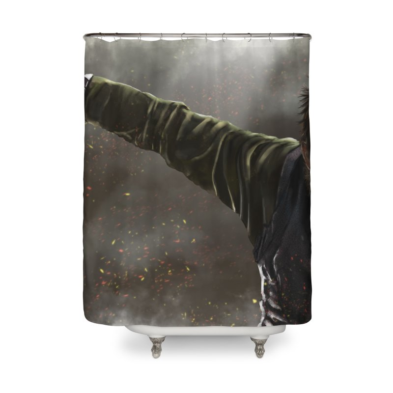 Floki - Vikings Home Shower Curtain by ibeenthere's Artist Shop