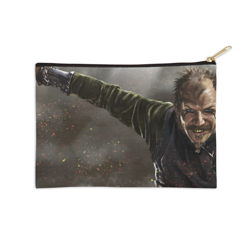 Floki - Vikings Accessories Zip Pouch by ibeenthere's Artist Shop
