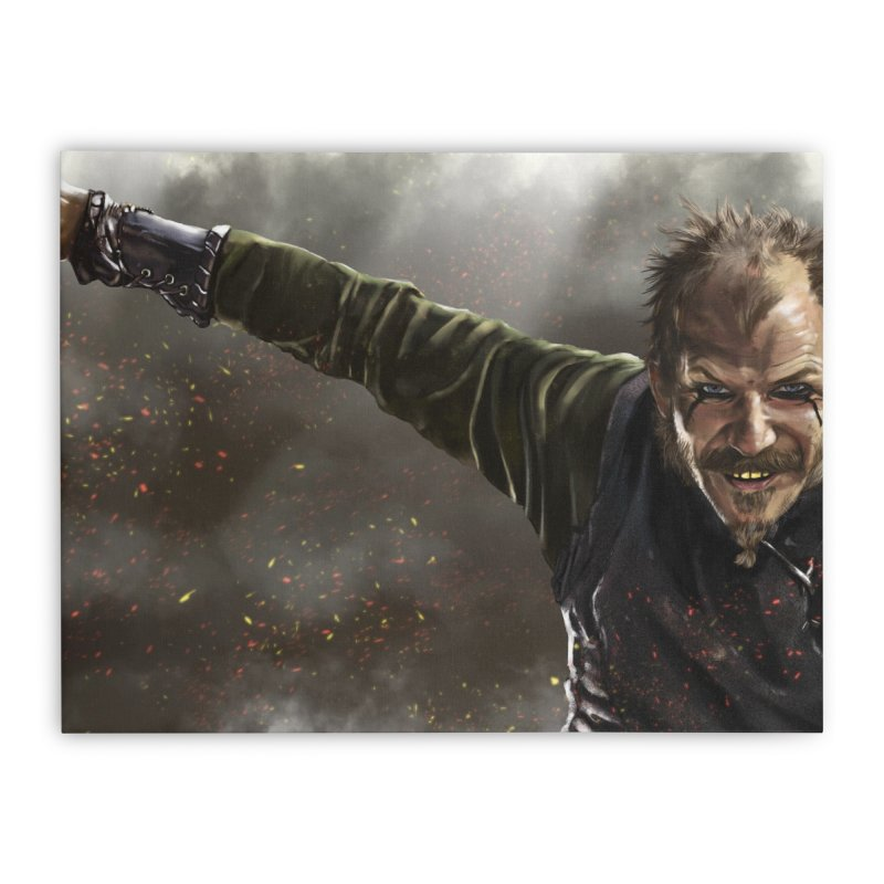 Floki - Vikings Home Stretched Canvas by ibeenthere's Artist Shop