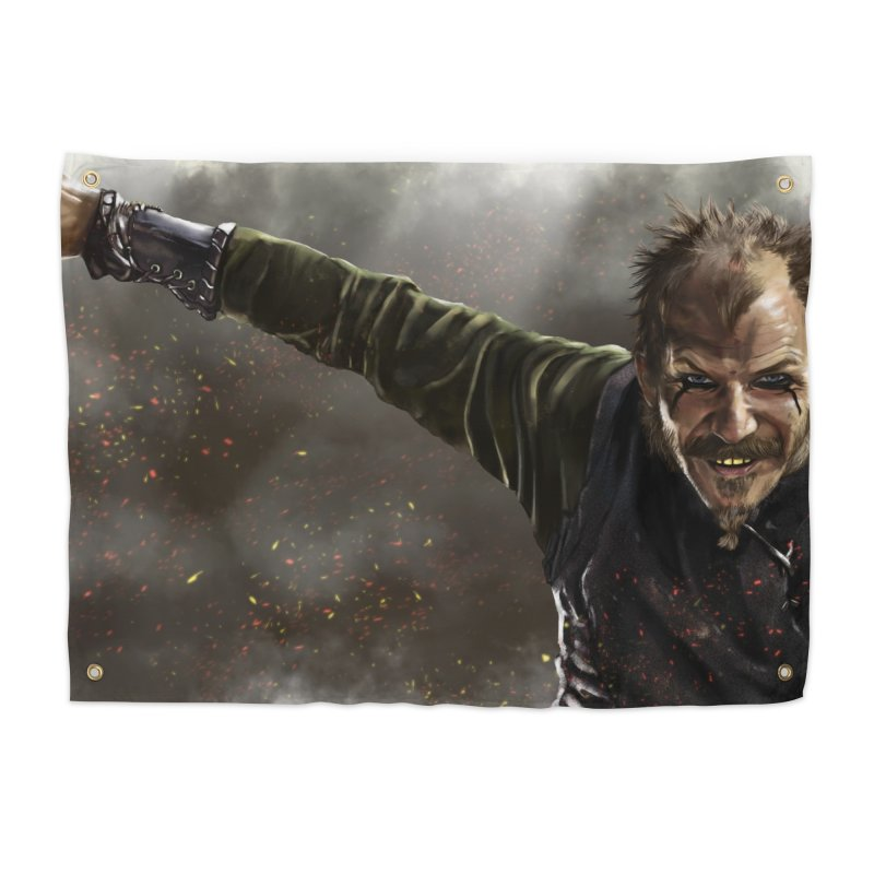 Floki - Vikings Home Tapestry by ibeenthere's Artist Shop
