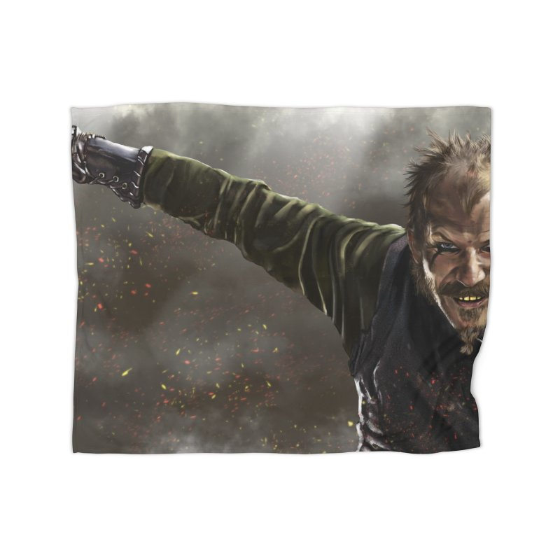Floki - Vikings Home Blanket by ibeenthere's Artist Shop