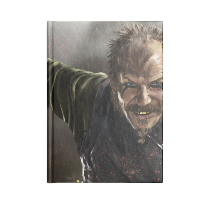 Floki - Vikings Accessories Blank Journal Notebook by ibeenthere's Artist Shop