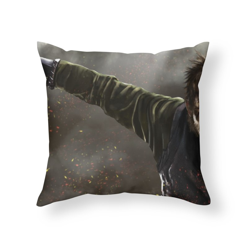 Floki - Vikings Home Throw Pillow by ibeenthere's Artist Shop