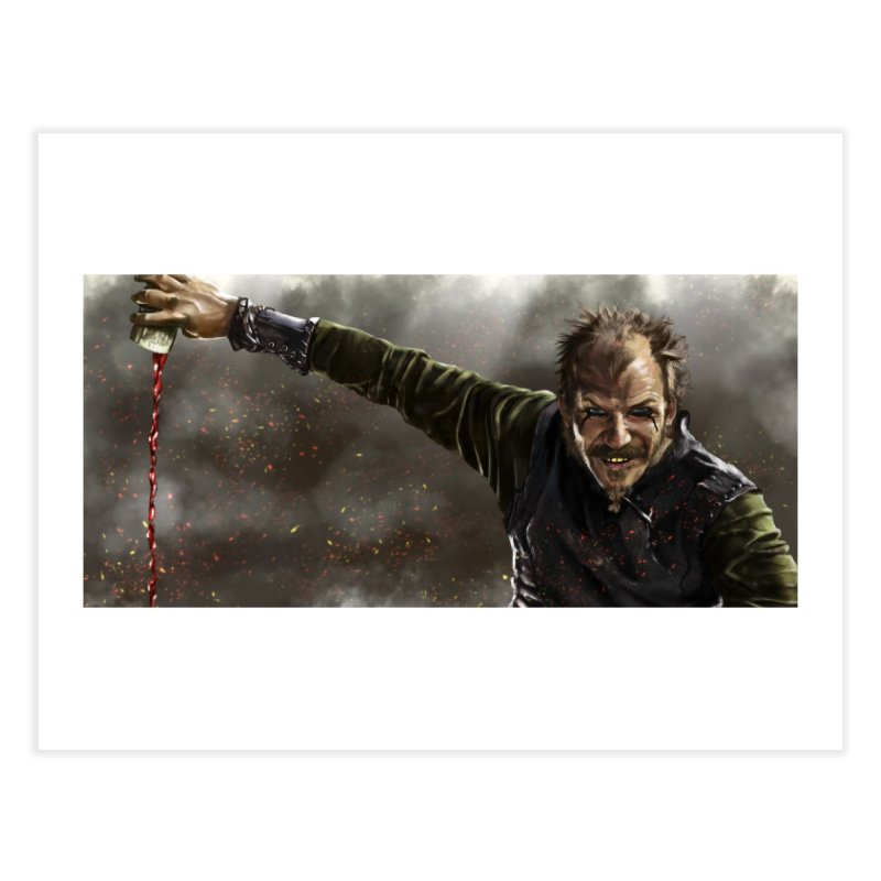 Floki - Vikings Home Fine Art Print by ibeenthere's Artist Shop