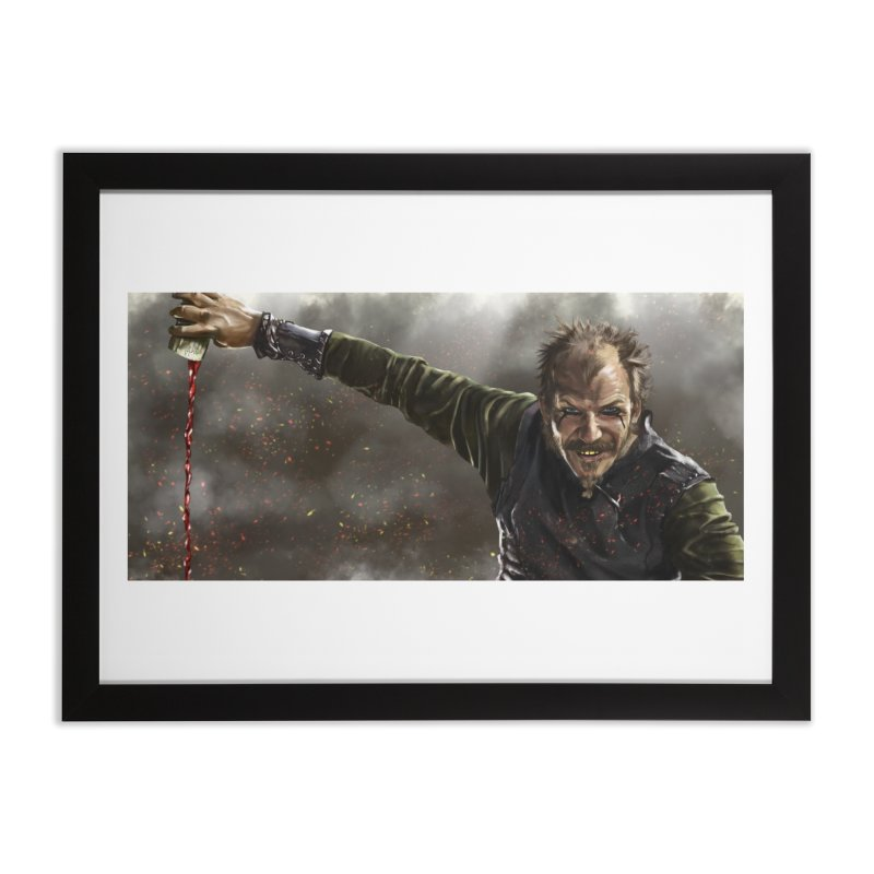 Floki - Vikings Home Framed Fine Art Print by ibeenthere's Artist Shop