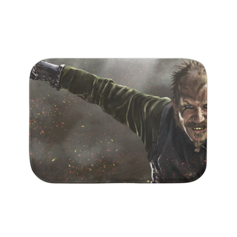Floki - Vikings Home Bath Mat by ibeenthere's Artist Shop