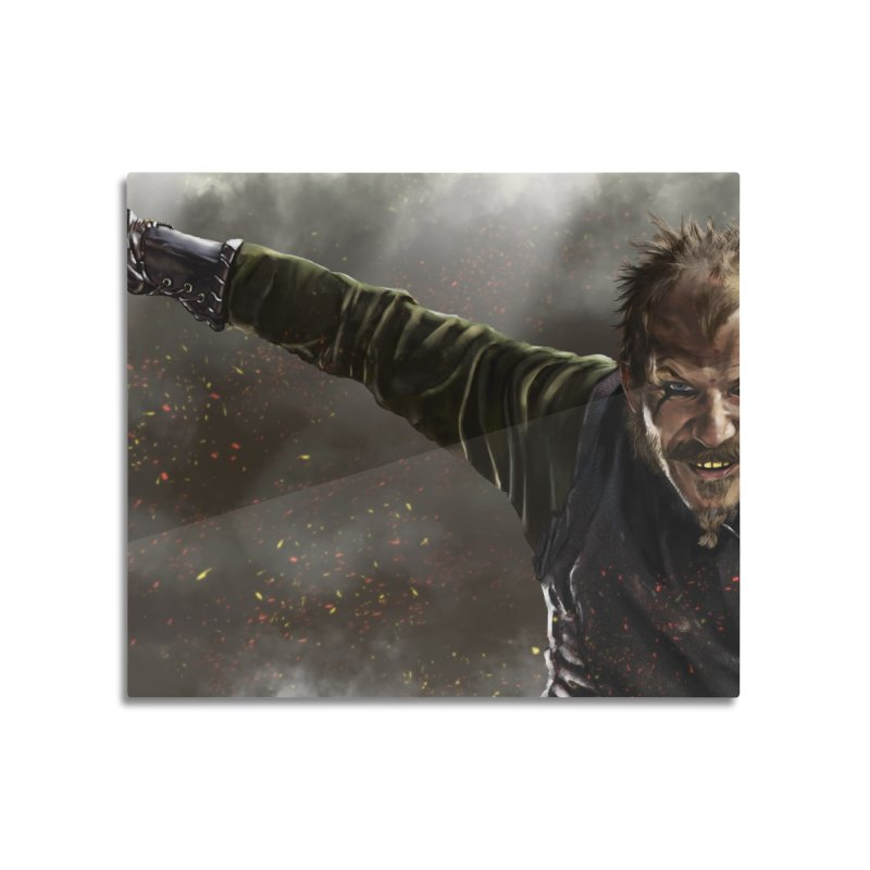 Floki - Vikings Home Mounted Acrylic Print by ibeenthere's Artist Shop