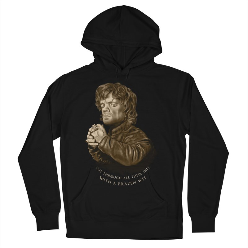 Little Man, Big Shadow Men's French Terry Pullover Hoody by ibeenthere's Artist Shop