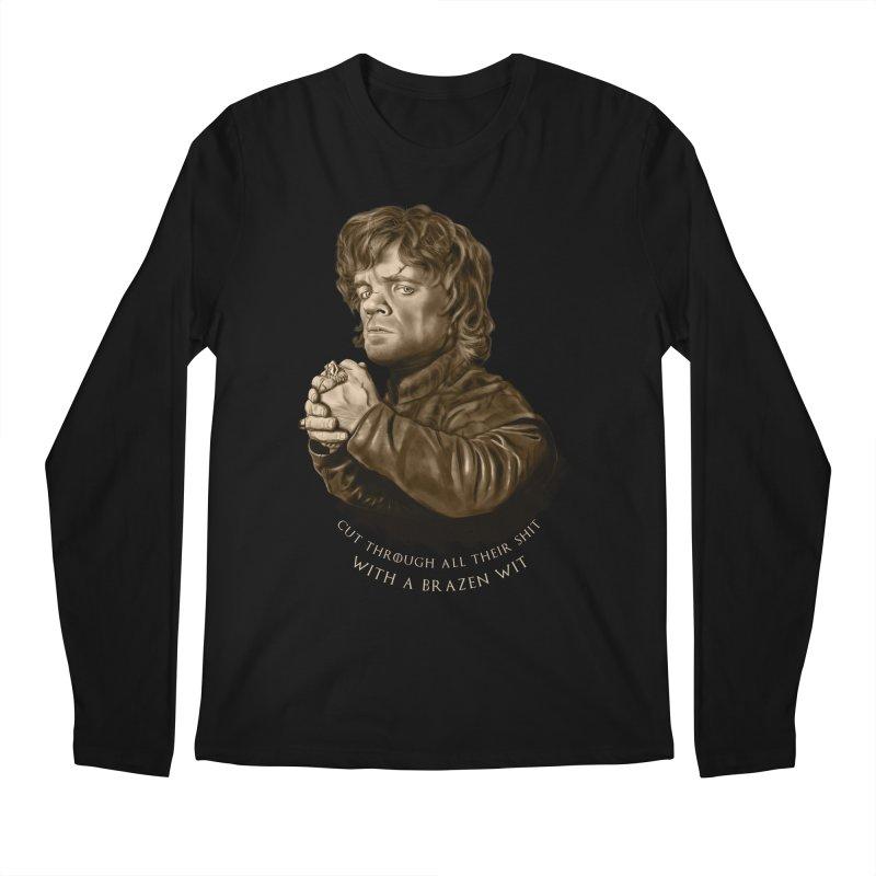 Little Man, Big Shadow Men's Longsleeve T-Shirt by ibeenthere's Artist Shop