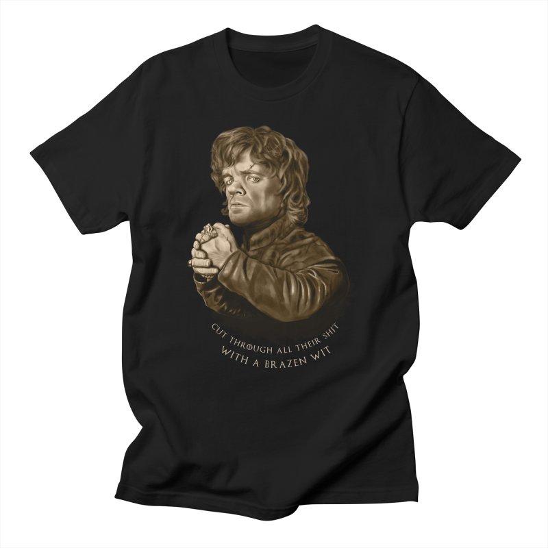 Little Man, Big Shadow Women's Regular Unisex T-Shirt by ibeenthere's Artist Shop