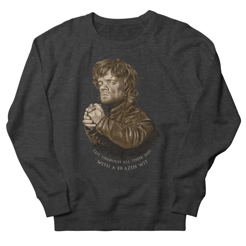 Little Man, Big Shadow Men's French Terry Sweatshirt by ibeenthere's Artist Shop