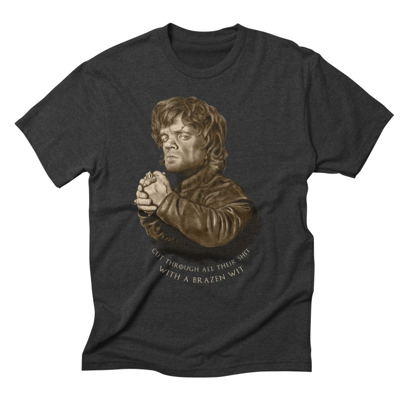 Little Man, Big Shadow Men's Triblend T-Shirt by ibeenthere's Artist Shop