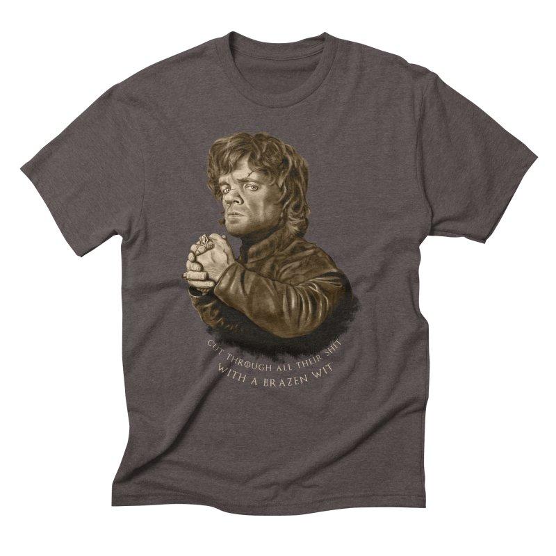 Little Man, Big Shadow Men's Triblend T-Shirt by ibeenthere's Artist Shop
