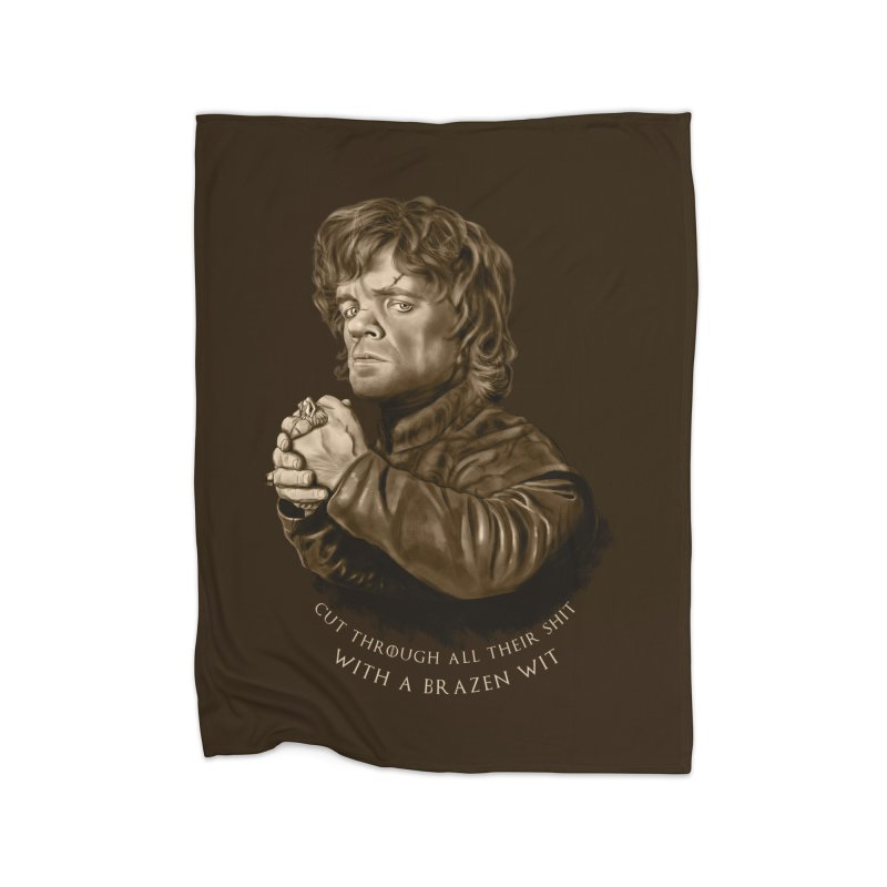 Little Man, Big Shadow Home Blanket by ibeenthere's Artist Shop