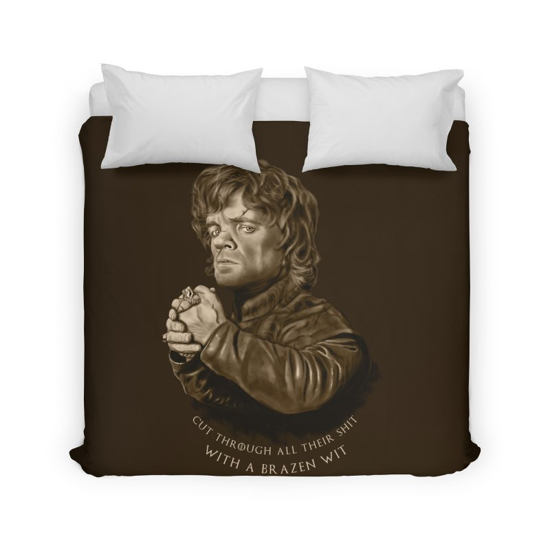 Little Man, Big Shadow Home Duvet by ibeenthere's Artist Shop