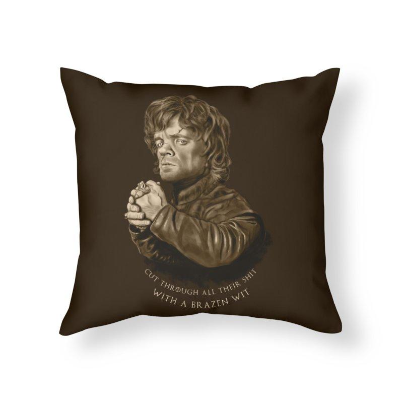 Little Man, Big Shadow Home Throw Pillow by ibeenthere's Artist Shop