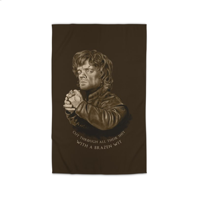 Little Man, Big Shadow Home Rug by ibeenthere's Artist Shop