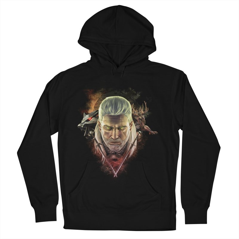 The Witcher Women's French Terry Pullover Hoody by ibeenthere's Artist Shop