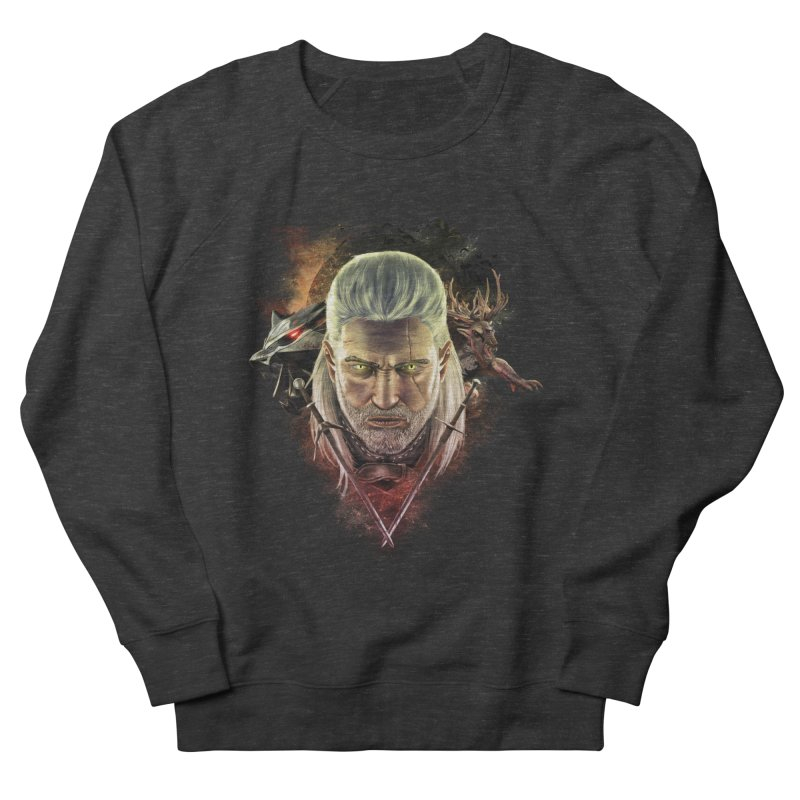 The Witcher Men's French Terry Sweatshirt by ibeenthere's Artist Shop