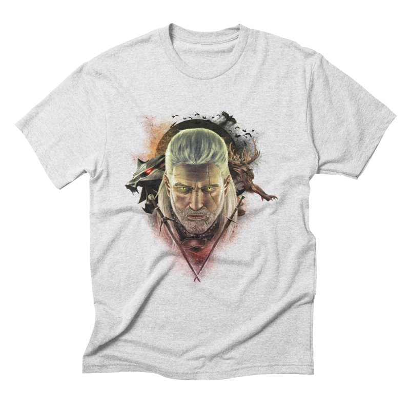 The Witcher Men's Triblend T-Shirt by ibeenthere's Artist Shop