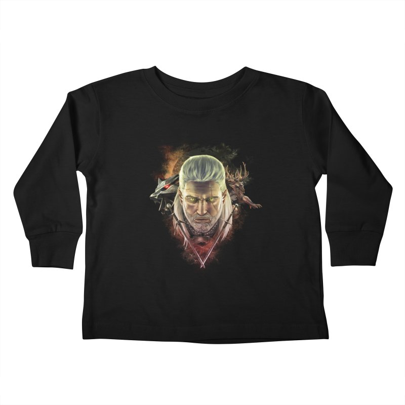 The Witcher Kids Toddler Longsleeve T-Shirt by ibeenthere's Artist Shop