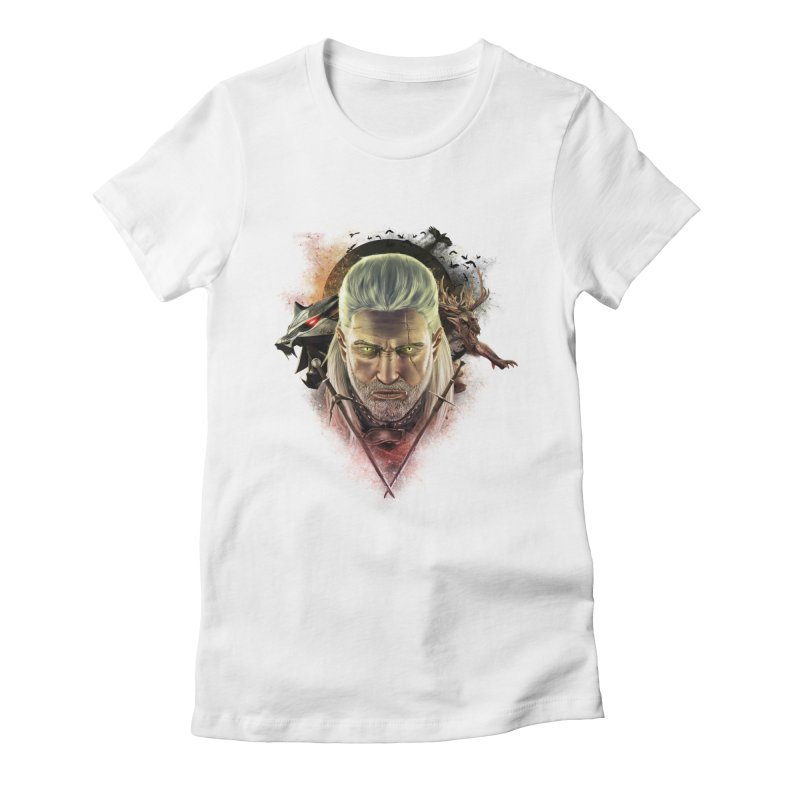 The Witcher Women's Fitted T-Shirt by ibeenthere's Artist Shop