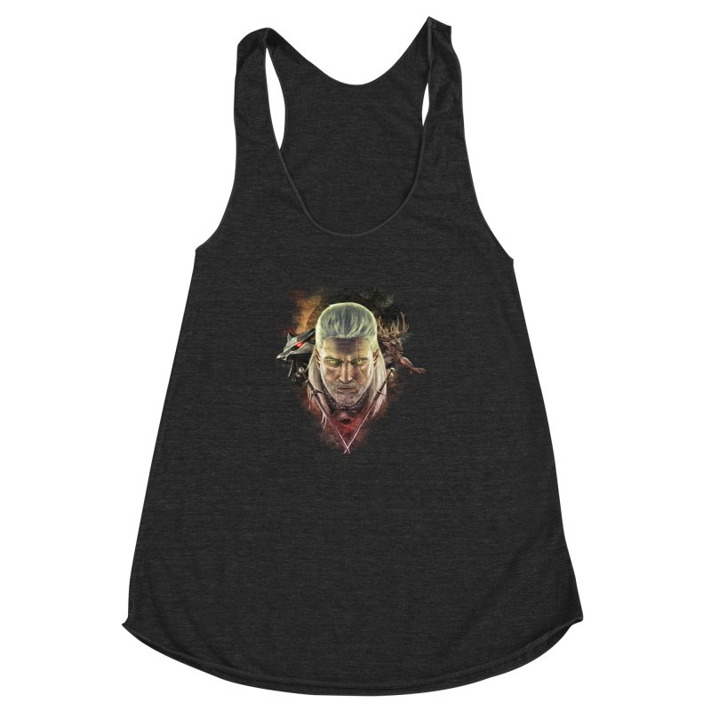 The Witcher Women's Racerback Triblend Tank by ibeenthere's Artist Shop