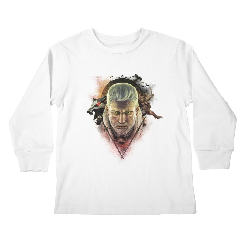 The Witcher Kids Longsleeve T-Shirt by ibeenthere's Artist Shop