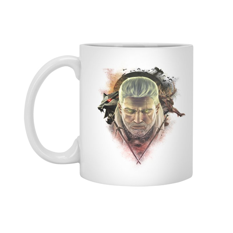 The Witcher Accessories Mug by ibeenthere's Artist Shop