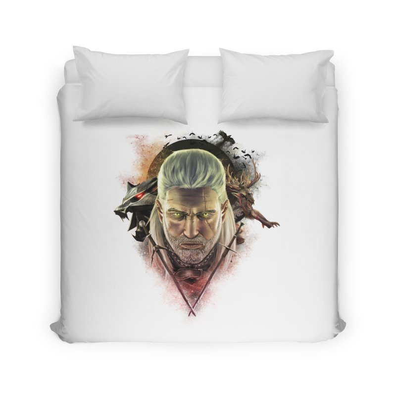The Witcher Home Duvet by ibeenthere's Artist Shop