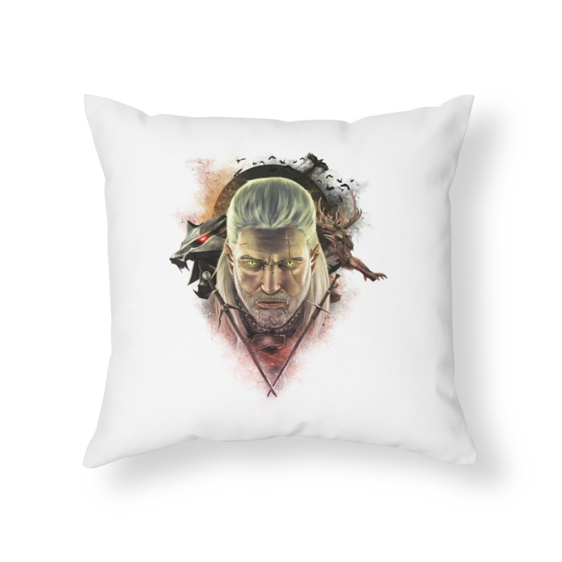 The Witcher Home Throw Pillow by ibeenthere's Artist Shop