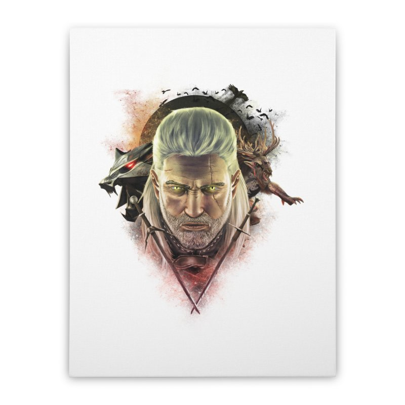 The Witcher Home Stretched Canvas by ibeenthere's Artist Shop