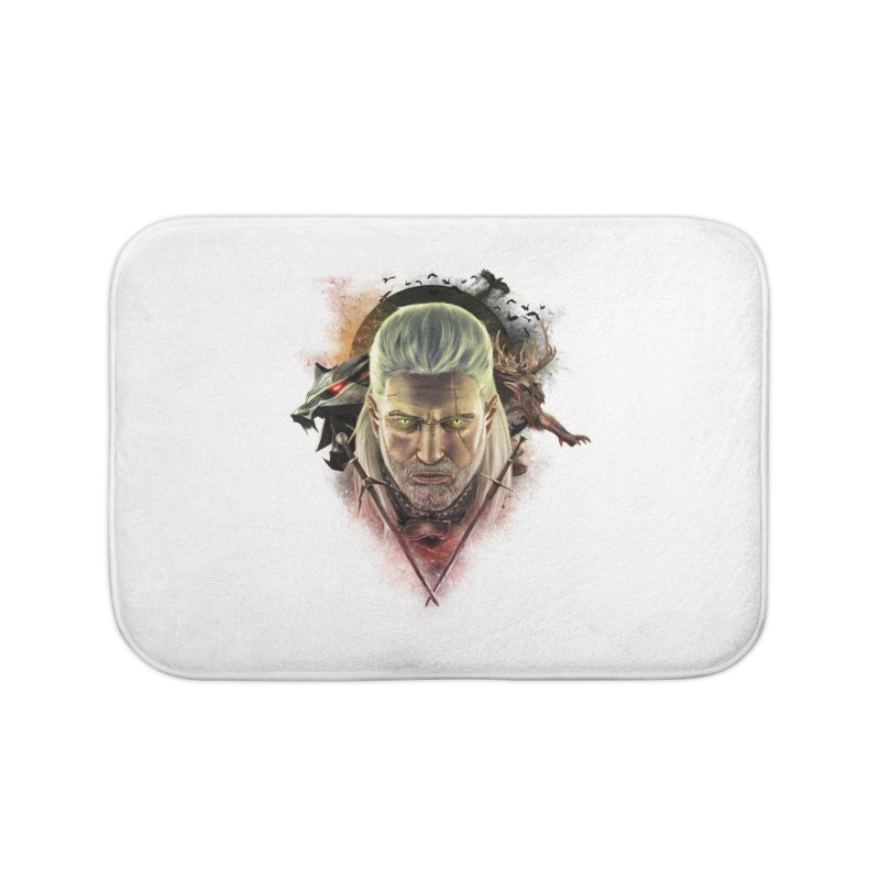 The Witcher Home Bath Mat by ibeenthere's Artist Shop