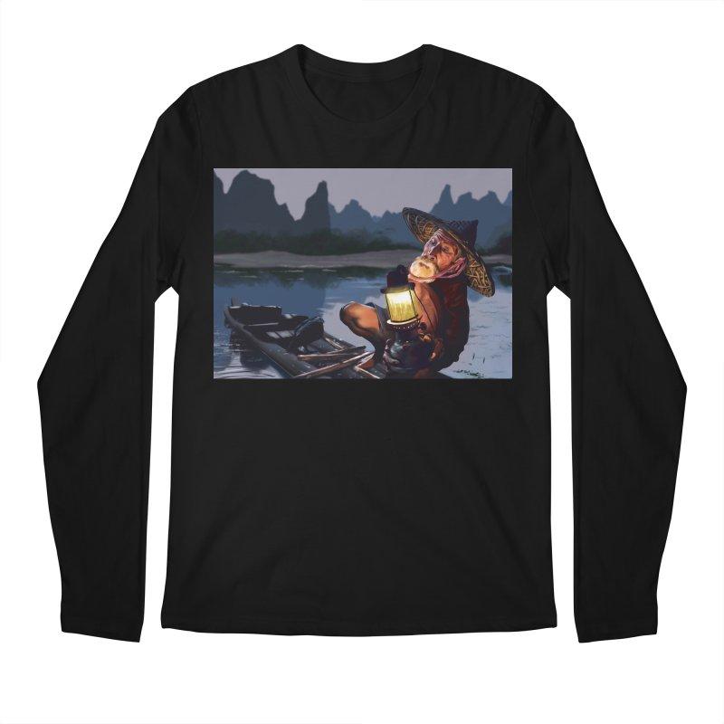 Fisher Men's Regular Longsleeve T-Shirt by ibeenthere's Artist Shop